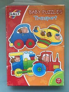 GALT Baby Tranport puzzles, jigsaw- 18 months +