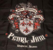 PEARL JAM - Werchter Belgium 2012 CONCERT FLAG - rock eddie vedder seattle WOW!