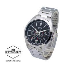 Casio Men's Standard Analog Multi Hand Watch MTPSW300D-1A MTP-SW300D-1A
