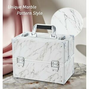 Extra Large Vanity Case Beauty Box Make up Jewelry Cosmetic Nail Storage Case