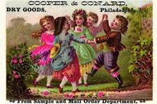 A Victorian Advertising Card - Cooper & Conard Dry Goods - Philadelphia, PA