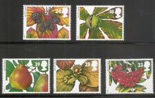 Great Britain SC # 1510-1514 Autum fruits.  MNH