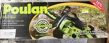 Poulan chainsaw gas, 14in