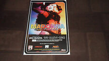 MADONNA.STICKY AND SWEET PROMO ONLY TOUR POSTER ULLEVI 2009