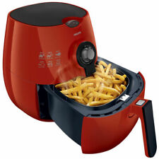 Philips The Original Airfryer with Rapid Air Technology 75% Less Fat Hd9220 Red