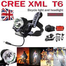 1800LM CREE XML T6  LED Road Bike Lights Bicycle Cycling MTB Headlight Headlamp