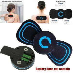 Portable Mini Electric Neck Massager Cervical Massage Stimulator Pain Relief UK