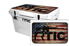 24mil Wrap for RTIC  45qt Cooler LID KIT Skin Accessory RTIC LS WD
