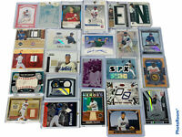 🔥 Baseball 57 Card Lot • 1/1 Auto Jersey Bat Ball Numbered Rc • UD Topps Fleer