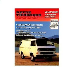 Revue technique automobile pour Volkswagen Transporter T3 79 ->92