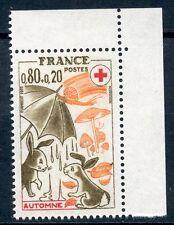 TIMBRE FRANCE NEUF N° 1861a **  CROIX ROUGE SAISONS AUTOMNE / ISSUS DE CARNET
