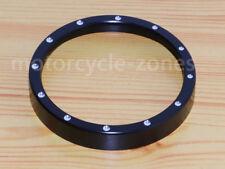 Black Speedometer Gauge Accent Trim Ring For Harley Sportster XL1200 883 72 48