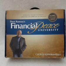 "Dave Ramsey's Financial Peace University Church Leadership Kit ""NEW"" DVD's CD's"