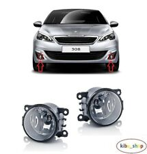 FOR PEUGEOT 308 2013.10 - 2020 2X NEW FRONT FOG LIGHT LAMPS LEFT + RIGHT