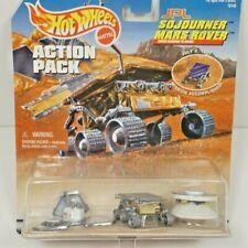 1997 Hot Wheels Action Pack JPL Sojourner Mars Rover, Lander, Mars Pathfinder
