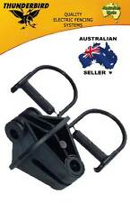 Aussie Made Thunderbird Steel Post Electric Fence Pinlock Insulators 25 Pack