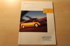 66423) Opel Astra Coupe Prospekt 08/2002