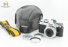 Excellent+++!! Nikon FM3A Silver + Ai-S NIKKOR 45mm f/2.8 P w/ Case from Japan