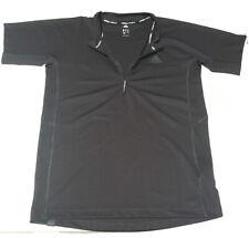 adidas Outdoor 37.5 Activated Carbon 1/2 Zip Short Sleeve Top Black Slim terrex