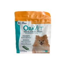 Oravet Dental Hygiene Chews Dogs 3.5-9lbs 30ct By Merial