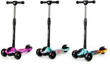 Kinderroller  Dreirad-Rolle Kinder Klappbar  LED-Gummi