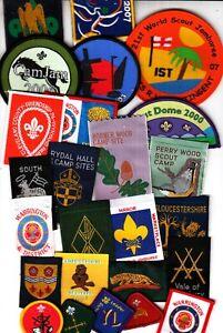 Boy Scout Badges x 25 (Y)