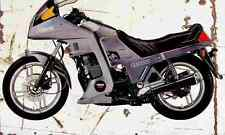 Yamaha XJ650Turbo 1982 Aged Vintage Photo Print A4 Retro poster