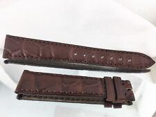 PATEK PHILIPPE Watch Strap Band Crocodile Alligator Leather 19 x 14 mm Brand New