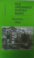 Old Ordnance Survey Detailed Maps Poplar Canning Town London 1867 Godfrey Edit.