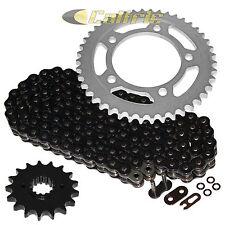 Black O-Ring Drive Chain & Sprockets Kit For HONDA CBR1100XX Blackbird 1997-2007