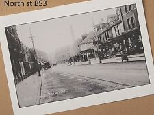North St., Bedminster, Bristol  one hundred years ago  A4 Archival quality print