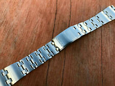 SEIKO SOILD Stainless Steel 19mm Gents Watch Strap,New,(SS-7)