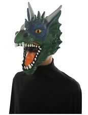 Hyde and Eek! Boutique Adult Deluxe Dragon Mask Costume Green NWT One size
