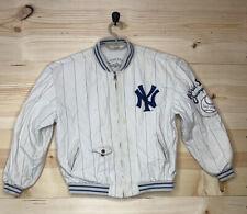 VINTAGE Boys XL Mirage First String Yankees World Series 1961 Reversible Jacket