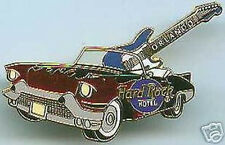 Hard Rock Hotel ORLANDO 2001 Red '57 Caddy & Guitar PIN Cadillac