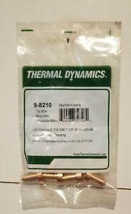 5 pcs Thermal Dynamic 9-8210 60amp Nozzles Plasma Cutting Tips