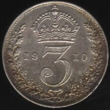 More details for 1910 edward vii silver threepence coin | british coins | pennies2pounds