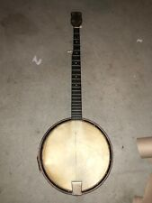Vintage Early 1920s 1930s 5 String Banjo Unbranded Numbered For Parts Repair
