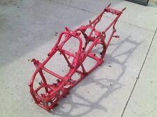 YAMAHA Banshee j-arm frame chassis 1987 1988 1989 1990 RED SILVER paperwork