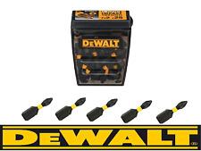 DEWALT Pz2 Extreme Impact Torsion Pozi 2 Screwdriver Bits 25mm X 5 Fits Bosch
