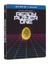 Ready Player One Limited Edition Steelbook 3D + 2D Blu Ray