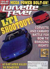 Corvette Fever Magazine November 1994 LT1 Shootout! Corvette & Camaro Battle