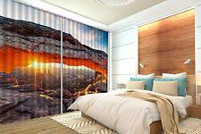 3D Sunset 73 Blockout Photo Curtain Printing Curtains Drapes Fabric Window AU