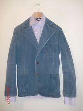 "Vintage 70's Wrangler Mens Denim Jean Blazer Jacket Chest 38"" Made in Macau"
