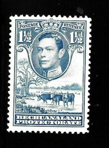 HICK GIRL-OLD MINT BECHUANALAND  SC#126  KING GEORGE VI.   ISSUE 1938    X1502
