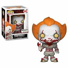 FUNKO POP IT PENNYWISE WITH SEVERED ARM AMAZON EXCLUSIVE HORROR BLOODY VARIANT
