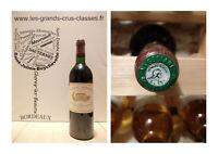 Château Margaux 1983 -  Classé 1er Grand Cru des Grands Vins de Bordeaux