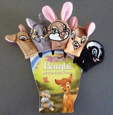 Disney Bambi Klopfer 5 Fingerpuppen Set Bade-Puppen Baby Badespielzeug Primark