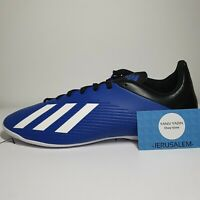 Adidas Men's X 19.4 in Team Royal Blue/ Football soccer Shoes sz 10 (EF1619)