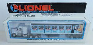 LIONEL #6-12811 Die-Cast ~ O/O27 ALKA-SELTZER TRACTOR & TRAILER ~ NIB ~ T180